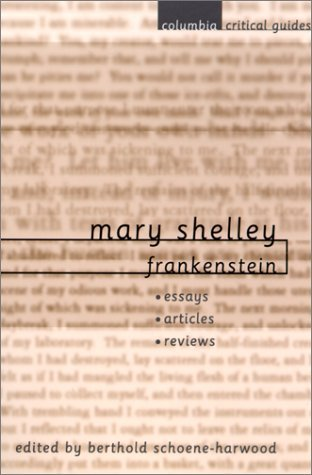 Image for Mary Shelley: Frankenstein